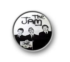 "THE JAM / 1"" / 25mm pin button / badge / music / novelty / pop / sixties / MOD"