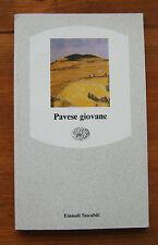 Pavese giovane  1990   Einaudi