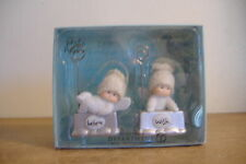 ~Department 56~Angel Gifts~ Wish And Believe~Photo Holders~Set Of Two~