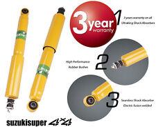 2 Rear Suzuki Vitara & Grand Vitara  4WD Heavy Duty Gas Shock Absorbers