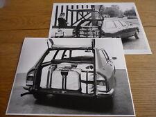 Citroen Gs Estate Prensa Fotografías X 2 folleto relacionados Jm