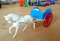 Vintage Britains Farm series Milk Cart and Horse
