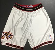 f494b785bc8 Allen Iverson Philadelphia 76ers Game Worn Game Used Shorts - Uniform  Champion