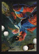 Dave DeVries SIGNED 1995 Fleer Ultra X-Men Art Card Cable Hunters Stalkers #2/9