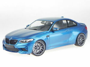 Minichamps 2019 BMW M2 Competition Blue Metallic LE of 504 1:18*New Item!
