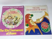 Lot Of 2 Vtg 82/86 Tournament Of Roses Official Parade Souvenir Programs Muppets