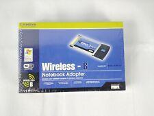 Linksys Wireless B Notebook Adapter 2.4Ghz Model Wpc11 v.4 128 bit Encryption
