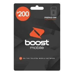 Boost Mobile $200 Starter Pack Sim Card 100GB Data Unlimited Calls Check Website