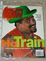 WWE MAGAZINE RAW JULY 1999 WRESTLING THE GODFATHER COVER WWF