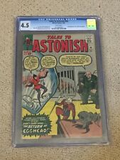 Tales to Astonish 45 CGC 4.5 with Rare White Pages (2nd app of The Wasp)