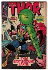 Marvel Comics VG+ THOR  #144 1967  AVENGERS BATTLEGROUND EARTH