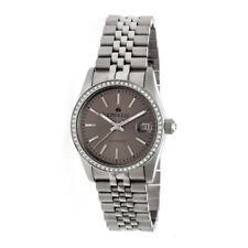 Empress Constance Automatic Women's Silver Bracelet Watch w/ Date EM1503
