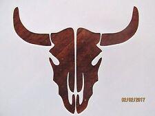Skull Cow Skull Stencil Reusable 10 mil Mylar Stencil