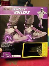 Purple Black Neon Street Rollers Adjustable Strap In Go Max 60 Kg 132 lbs Age 6+