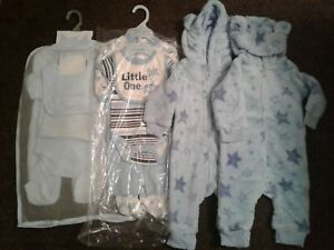Bundle of baby boys clothes sets x 4 size 3-6 months 6-9 months New