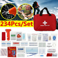 234Pcs/Set SOS Emergency Camping Survival Equipment Outdoor Gear Tactical Tool