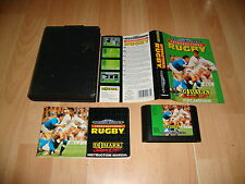 INTERNATIONAL RUGBY 16-BITS CARTRIDGE PARA LA SEGA MEGA DRIVE USADO COMPLETO