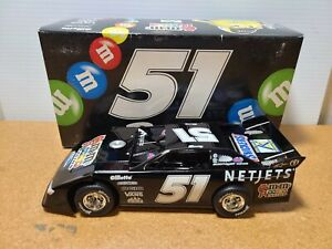 2009 Kyle Busch #51 M&M's / Net Jets Dirt Car 1:24 Prelude To The Dream ADC MIB