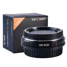 K&F Concept Mount Adapter Minolta MD MC Lens to Canon EOS Adapter Focus Infinity