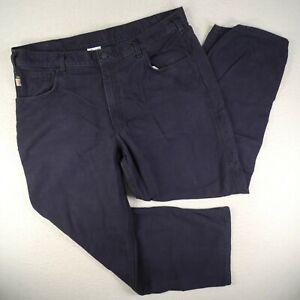 Carhartt FR Pants Mens 40x30 Navy Blue CAT2 2112 Compliant Fire Resistant