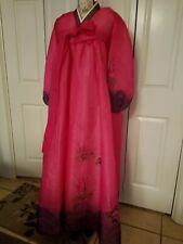 "Hanbok Korean Traditional Costume Dress Size MD 156"" Long 5' 3""- 5' 8"" Tall"