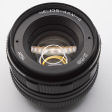 Helios 44M-4 58mm f2 lens in great condition M42 mount + Canon EOS adapter