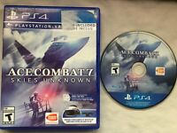 Ace Combat 7 Skies Unknown Sony Playstation 4 PS4