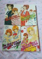 Lot of 5 'MY HEAVENLY HOCKEY CLUB' Vol 3-6 ~ English Manga Set by Ai Morinaga