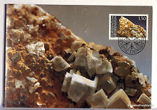 LIECHTENSTEIN  N° 92 CALCITE Carte Postale Maximum  LIE13