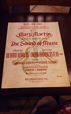 DO-RE-MI VINTAGE SHEET MUSIC COPYRIGHT 1959