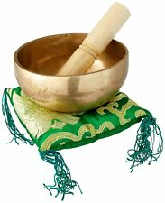 4 InchTibetan Singing bowl handmade brass(7metal)Handmade Free cushion & mallet