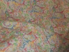 Ralph Lauren King Size Comforter With 2 King Shams Paisley Floral