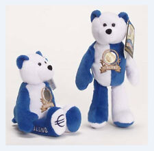 "Finland Euro Coin Bear Retired Plush 9"" Collectible Bear Limited Treasures"