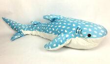 "Hugfun 38"" Blue Whale Shark Plush Stuffed Classroom Marine Ocean Sea Pillow"