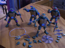 set 4 NECA TMNT TEENAGE MUTANT NINJA TURTLES LEO DON MIKEY & RAPH FIGS LOOSE