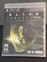 NEW! Alien Isolation: Nostromo Edition- Sony PS3