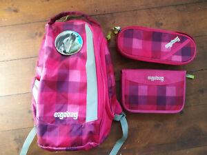 Ergobag Sporttasche/Rucksack ,Etui und Schlampermäppchen