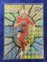 2020 Panini Mosaic Josh Allen Center Stage Mosaic Prizm SSP #CS5 Bills 🔥