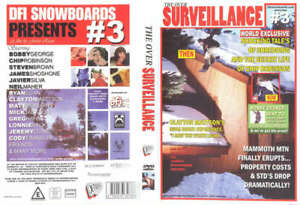 Over Surveillance  -  Snowboard Film / Snowboarding DVD -  - SALE PRICE