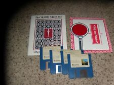 "The Colonel's Bequest MS-DOS 3.5"" disks PC Game with pictured items."