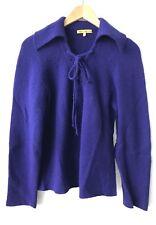 Catherine Malandrino Large Purple Sweater
