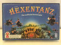 HEXENTANZ teuflisches Verwirrspiel von FX Schmidt in Blau Kinder Familie Brett
