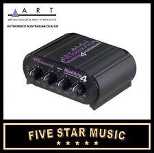 ART HEADAMP4 STEREO HEADPHONE AMPLIFIER HEAD AMP 4 NEW A.R.T. PRO AUDIO