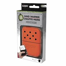 Blaze Orange Zippo Refillable Deluxe Hand Warmer with Fill Cup & Warming Bag