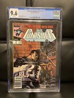 PUNISHER LIMITED SERIES #2 CGC 9.6 NM MARVEL COMIC BOOK 1986 MIKE ZECK