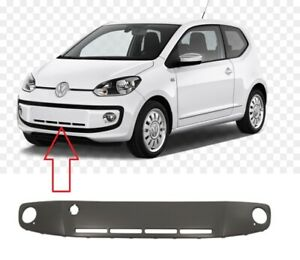 VW UP 2012- 2015 FRONT BUMPER GRILL WITH FOG LIGHT COVER HOLES PRIMED 1S0853665B