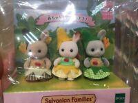 Sylvanian Families BABY TRIO BANANA EPOCH Calico Critters [Fedex/DHL/JP]