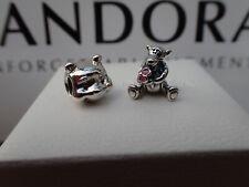 Pandora Charm Winnie The Pooh 791566 & Pandora Tigger Too 792135EN80