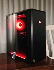 i7 Corsair Tempered Glass Gaming PC Computer|16GB RAM|1TB HDD|4GB RX570|5 Games!
