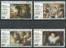 Timbres Arts Tableaux Rubens Togo 901/2 PA326/7 o (38484)